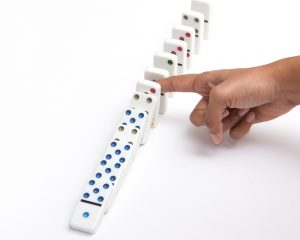Internet Marketing System through Inbound Marketing. Don't play dominoes- build a conversion website instead.