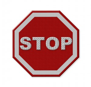 What is Inbound Marketing? Stop sign
